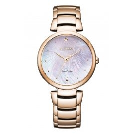 Citizen EM0853-81Y Eco-Drive Ladies' Watch Rose Gold Tone