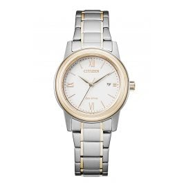 Citizen FE1226-82A Eco-Drive Damenuhr Solar bicolor