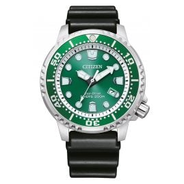 Citizen BN0158-18X Eco-Drive Solar Diver's Watch for Men Green