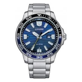 Citizen AW1525-81L Eco-Drive Solar Herrenuhr Blau