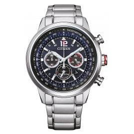Citizen CA4471-80L Eco-Drive Solar Men's Chronograph Steel/Black