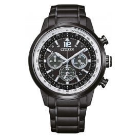 Citizen CA4475-89E Eco-Drive Solar Men's Watch Chronograph Black