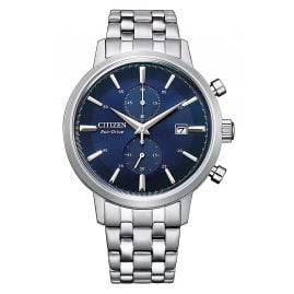 Citizen CA7060-88L Eco-Drive Solar Men's Chronograph Steel/Blue