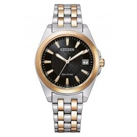 Citizen EO1213-85E Eco-Drive Solar Damenuhr bicolor