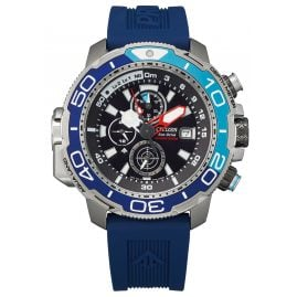 Citizen BJ2169-08E Promaster Marine Men's Diving Watch Eco-Drive Blue