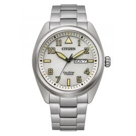 Citizen BM8560-88XE Eco-Drive Men's Watch Titanium White