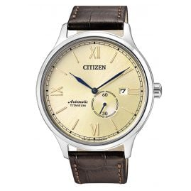Citizen NJ0090-13P Automatic Mens Watch Titanium