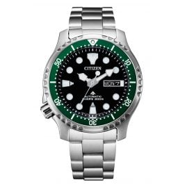 Citizen NY0084-89E Promaster Automatic Diver Men's Watch Black / Green