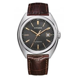 Citizen NJ0100-03H Automatic Watch for Men Brown/Anthracite