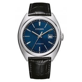 Citizen NJ0100-46L Automatik Herrenuhr Schwarz/Blau