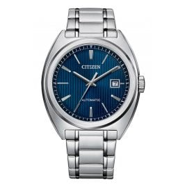 Citizen NJ0100-71L Herrenuhr Automatik Stahl/Blau