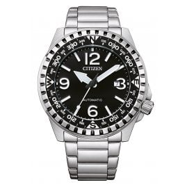 Citizen NJ2190-85E Automatic Men's Watch Steel/Black
