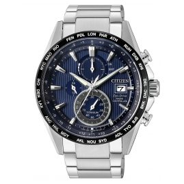 Citizen AT8154-82L Eco-Drive Funkuhr Herren-Chronograph Titan