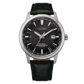 Citizen CB0190-17E Eco-Drive Men's Radio-Controlled Watch Titanium Black