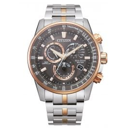 Citizen CB5886-58H Eco-Drive Men's Chronograph Radio-Controlled Two-Colour