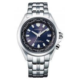 Citizen CB0220-85L Eco-Drive Radio-Controlled Men's Watch Steel/Blue