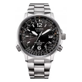 Citizen CB0230-81E Eco-Drive Radio-Controlled Men's Watch Titanium/Black