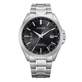 Citizen CB0250-84E Eco-Drive Funk-Solaruhr für Herren Schwarz