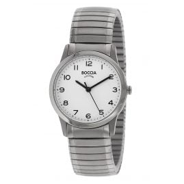 Boccia 3287-01 Titanium Ladies' Watch with Flex Bracelet