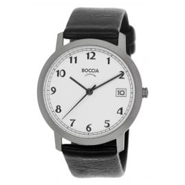 Boccia 3617-01 Titanium Ladies' Watch with Leather Strap