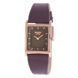 Boccia 3294-04 Ladies' Wristwatch with Leather Strap