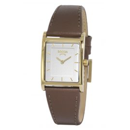 Boccia 3294-03 Titanium Ladies' Watch with Leather Strap
