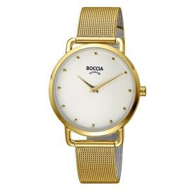 Boccia 3314-06 Ladies' Watch Gold Plated Titanium / Stainless Steel