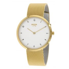Boccia 3315-04 Women's Watch Gold Plated Titanium / Stainless Steel
