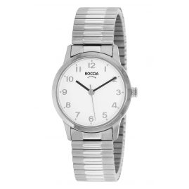 Boccia 3318-01 Women's Watch with Elastic Titanium Strap