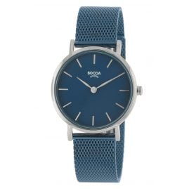 Boccia 3281-08 Ladies' Watch Titanium / Stainless Steel Blue