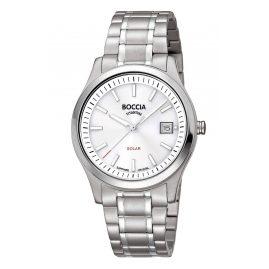 Boccia 3326-01 Damen Solar-Armbanduhr Titan mit Saphirglas
