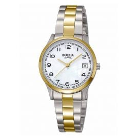 Boccia 3324-02 Women's Watch Titanium with Sapphire Crystal Two-Colour