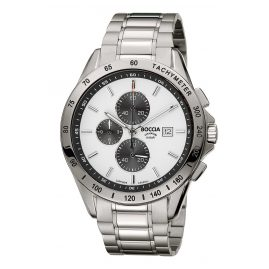 Boccia 3751-04 Titanium Men´s Wristwatch Chronograph