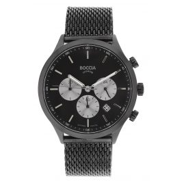 Boccia 3750-06 Men's Watch Chronograph Titanium