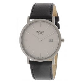 Boccia 3637-01 Titanium Watch for Men