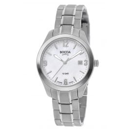 Boccia 3317-01 Ladies' Wristwatch Titanium with Sapphire Crystal