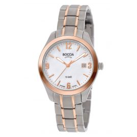 Boccia 3317-02 Ladies' Watch Titanium with Sapphire Crystal Two-Colour