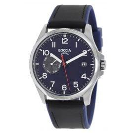 Boccia 3644-02 Men's Watch Titanium Black / Blue