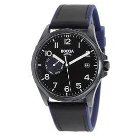 Boccia 3644-03 Herren-Armbanduhr Titan Schwarz