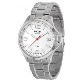 Boccia 3591-06 Titan Herren-Armbanduhr mit Saphirglas