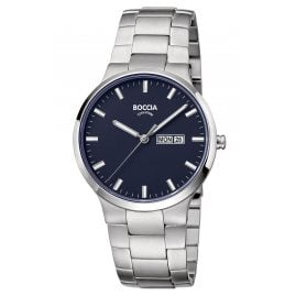 Boccia 3649-02 Men's Watch Titanium with Sapphire Crystal