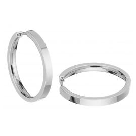 Boccia 0517-03 Titanium Hoop Earrings