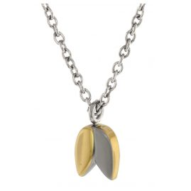 Boccia 08025-02 Damen-Halskette Titan