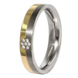 Boccia 0129-06 Titanium Ladies Ring