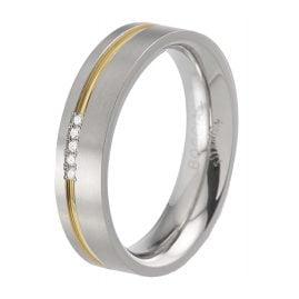 Boccia 0149-04 Women's Ring Titanium
