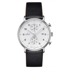 Junghans 041/4771.00 Herrenuhr Chronoscope Form C