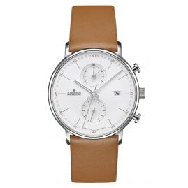 Junghans 041/4774.00 Herrenuhr Chronoscope Form C
