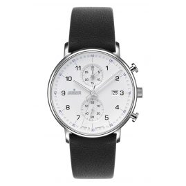Junghans 041/477-Schwarz Men's Watch Chronoscope Form C