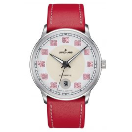 Junghans 027/4716.00 Ladies Watch Meister Driver Automatic Red