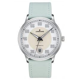 Junghans 027/4717.00 Ladies Watch Meister Driver Automatic Pastel Green